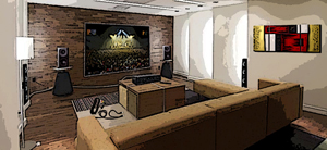 installer un home cinema atout. Black Bedroom Furniture Sets. Home Design Ideas